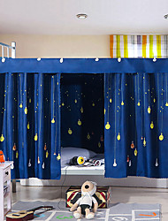 cheap -Bunk Bed Curtain Student Shading Sky Easy Install Wholesale Thickening High Net