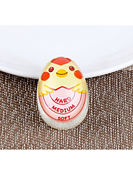 cheap -Creative Cartoon Boiled Egg Timer Medium Half-Cooked Fully Cooked Well Done Color Changing Soft-Boiled Egg Reminder