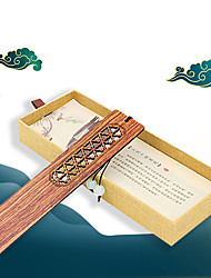 cheap -Inspirational Creative Colored vintage wooden Bookmarks for Women Page Markers for Students Teachers Reading