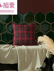 "cheap -24"" x 24"" single stripe colorblock indoor/outdoor throw pillow black/cream - hearth & hand™ with magnolia"