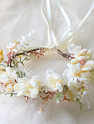 cheap -Wreath Headwear Fashion Bride Wedding Head Flower Garden Super Fairy Girl Wedding Cloth Art Hair Accessories