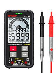 cheap -GVDA GD118B Generation 600V Digital Multimeter Ture RMS AC DC NCV Smart Multimetro Tester Ohm Capacitance Hz Voltage Meter