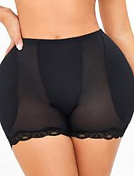 cheap -Tummy Control Panties Stomach Hip Pad Firm Control Shapewear Body Shaper Butt Lifter Body Booty Butt Enhancer