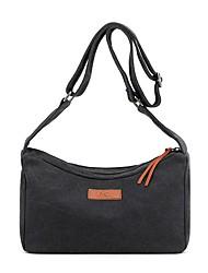 cheap -Unisex Bags Canvas Top Handle Bag Zipper Daily Outdoor 2021 Tote Handbags Purple Gray Khaki Black