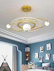 cheap -LED Ceiling Light 55/65 cm Circle Design Single Design Chandelier Acrylic Artistic Style Modern Style Stylish Painted Finishes LED Modern 220-240V