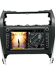 cheap -Android 9.0 Autoradio Car Navigation Stereo Multimedia Player GPS Radio 8 inch IPS Touch Screen for Toyota Camry 2012-2014 1G Ram 32G ROM Support iOS System Carplay