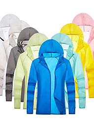 cheap -Men's UPF 50+ UV Sun Protection Lightweight Jacket Zip Up Hoodie Jacket Windbreaker Cooling Sun Shirt with Pockets Quick Dry Packable Coat Top Hiking Fishing Outdoor Performance