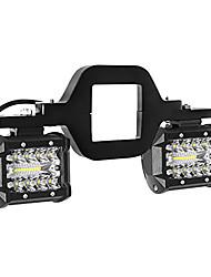 cheap -OTOLAMPARA Ultra Bright Lightness 200W LED Work Light with Hook Bracket Easy Install Multi-usage IP67 Waterproof Premium Alumium SUV 4WD LED Work Light White 1pcs Hook and 2pcs Work Lights Included