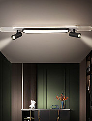 cheap -LED Ceiling Light 80/100 cm Dimmable Flush Mount Lights Aluminum Artistic Style Modern Style Stylish Painted Finishes LED Modern 220-240V