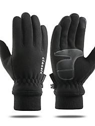 cheap -Ski Gloves Snow Gloves for Women Men Touchscreen Thermal Warm Windproof Cotton Full Finger Gloves Snowsports for Cold Weather Winter Skiing Snowboarding Cycling