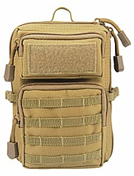 cheap -tactical molle utility pouch, edc tool pouch tactical phone pouches mini waist pouches medical edc ifak pack mini military pouch (tan)