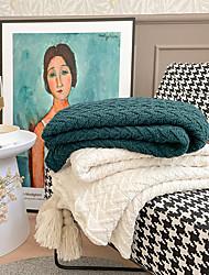 cheap -Nordic style sofa blanket cover blanket office siesta shawl blanket knitted wool blanket leisure air conditioning blanket