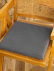 cheap -Floor Pillow Seat Cushion High Quality Square Cotton Japanese Style Chair Cushion Solid Color Simple Seat Cushion Home Office Seat Bar Dining Chair Seat Pads Garden Floor Cushion
