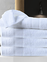cheap -1 Pc 100% Cotton Premium Ring Spun Hand Kitchen Shower Towel(Set) Machine Washable Super Soft Highly Absorbent Quick Dry For Bathroom Hotel Spa Solid 80*150cm