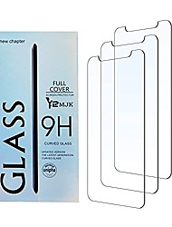 cheap -screen protector compatible iphone xs & iphone x & iphone 11 pro (3 packs, clear) 0.25mm tempered glass screen protector with most case 99% touch/clarity [3d touch] work