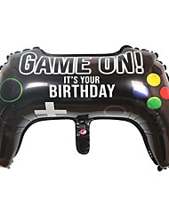cheap -Game Console-shaped Aluminum Foil Balloons Game Party Venue Decoration Gamepad Balloons