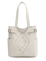 cheap -Women's Bags Canvas Crossbody Bag Zipper Daily Outdoor 2021 Tote Handbags Purple Gray White Black