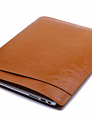 cheap -11.6 Inch Laptop / 12 Inch Laptop / 14 Inch Laptop Sleeve Leather Solid Color for Men for Women for Business Office