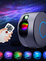 cheap -Star Projector Laser Galaxy Starry Sky Projector  LED Night Light with Remote Night Star Projector with 15 Mode Lighting Shows for For Bedroom and Party Decoration