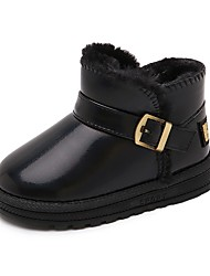 cheap -Girls' Casual / Daily Snow Boots Big Kids(7years +) Coffee color Black