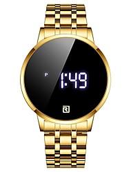 cheap -REWARD Men's Digital Watch Digital Large Dial Wristwatch Touch Screen Sport Waterproof Men Wrist Watch Simple Luxury Stainless Steel Watch