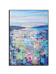 cheap -Oil Painting Handmade Hand Painted Wall Art Modern Colorful Landscape Abstract Large Size Picture Home Decoration Decor Rolled Canvas No Frame Unstretched