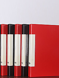 cheap -Imitation leather leather folder business powerful single and double folder office contract folder