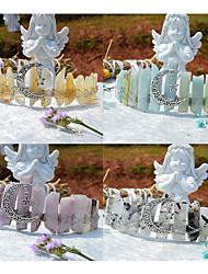 cheap -1 Piece Aquamarine Purple Agate Rare Crystal Advanced Handmade Custom Crown Headband