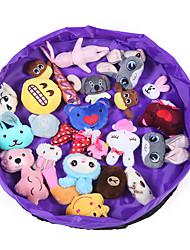 cheap -Kids Toy Storage Organizer - Collapsible Kids Large Toy Storage Basket and Large Play Mat Drawstring Oxford Toy Storage bins 50/150cm