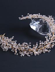 cheap -Bridal Wedding Accessories Popular Wedding Headdresses Handmade Crystal Hair Accessories Headbands