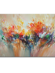 cheap -Oil Painting Handmade Hand Painted Wall Art Abstract Flower Landscape Home Decoration Decor Rolled Canvas No Frame Unstretched