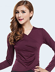 cheap -Activewear Top Solid Women's Training Performance Long Sleeve Nylon