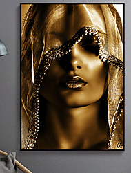 cheap -Wall Art Canvas Prints People Woman Home Decoration Decor Rolled Canvas No Frame Unframed Unstretched