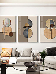 cheap -Wall Art Canvas Poster Abstract Home Decoration Decor Rolled Canvas No Frame Unframed Unstretched