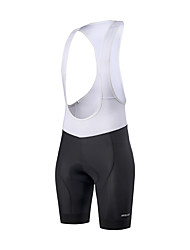cheap -Arsuxeo Men's Cycling Bib Shorts Summer Elastane Bike Bib Shorts Quick Dry Sports Grey / Black Clothing Apparel Race Fit Bike Wear Advanced Sewing Techniques / Sleeveless / High Elasticity