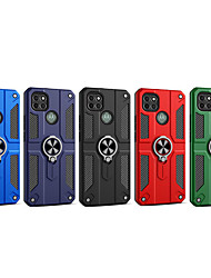 cheap -Phone Case For Motorola Back Cover Moto E7 MOTO G9 PLAY Moto G6 Play MOTO E6 plus MOTO E6 play G9 Moto E6S (2020) MOTO G9 PLUS MOTO ONE FUSION Shockproof Dustproof with Stand Solid Colored TPU