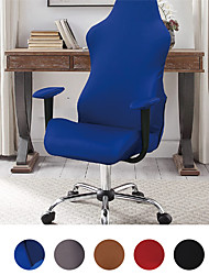 cheap -Ergonomic Office Computer Game Chair Slipcovers Stretchy Polyester Covers for Reclining Racing Gaming Gaming Chair (No Chair)