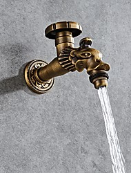 cheap -Faucet accessory - Superior Quality Washing Machine tap European Style Copper Antique Brass