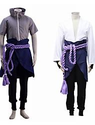 cheap -Inspired by Naruto Uchiha Sasuke Anime Cosplay Costumes Japanese Cosplay Suits For Men's
