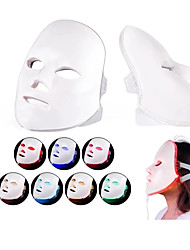 cheap -LED Facial Mask Beauty Skin Rejuvenation Photon Light 7 Colors Mask Therapy Wrinkle Acne Tighten Skin Tool Facial Machiner