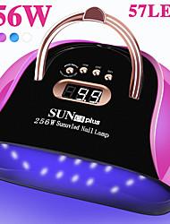 cheap -57 LEDs Powerful UV LED Lamp For Nails Gel Polish Dryer Lamp With Smart Sensor Professional Manicure Machine Nail Art Salon Tool
