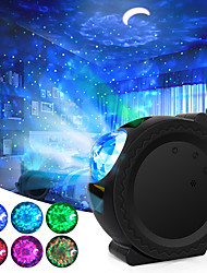 cheap -Star Galaxy Projector Light Projector Light Stage Lights Laser Light Projector Dimmable colors Party 6 Colors Ocean Waving Light Stary Sky Projector LED Nebula Cloud Night Light Wedding Gift RGB+White