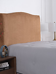cheap -Velvet Bed Headboard Cover for Bedroom Decoration, Stretch Bed Headboard Slipcover Covers, Dust proof Protector Cover for Upholstered Headboard