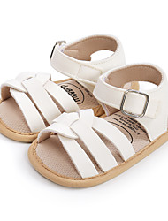cheap -Boys' Sandals Baby Shoes First Walkers Synthetics Casual / Daily Sports First Walker(9m-2ys) Infants(0-9m) Indoor Walking Indoor Gold White Black Spring Summer