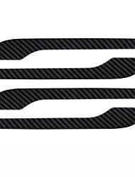 cheap -Door Handle Cover for Tesla Model 3/Y Car Exterior Accessories ABS Imitation Carbon Fiber Protector Sticker 4PCS/Set