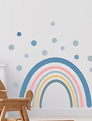 cheap -cartoon rainbow flowers stars children's bedroom entrance wall decoration wall stickers self-adhesive
