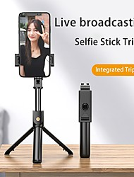 cheap -Selfie Stick Bluetooth Extendable Max Length 73.1 cm For Universal Android / iOS