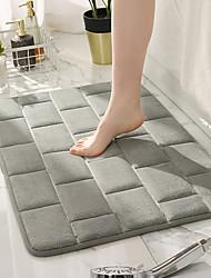 cheap -Embossed Bricks Pattern Bathroom Bath Mat Bathtub Floor Carpets Memory Foam Home Toilet Rugs Water Absorption Anti-slip Pad