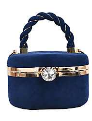 cheap -Women's Bags Alloy Top Handle Bag Party / Evening Date Handbags Blue Blushing Pink Khaki Green