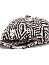 cheap -Men's Bucket Hat Dailywear Pure Color Print Coffee Black Hat